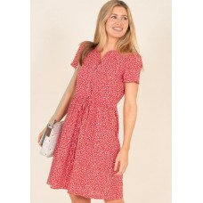 BRAKEBURN Forget me Not Dress Red  RRP £49.95