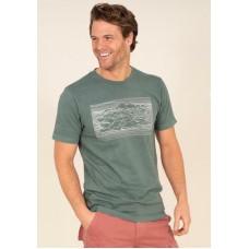 BRAKEBURN Mountain T-shirt  RRP £24.95