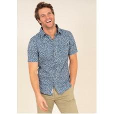 BRAKEBURN La Jolla Shirt Navy  RRP £37.95