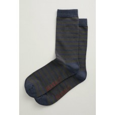 SEASALT Men's Sailor Socks Breton Coal Yacht