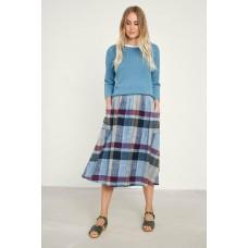 SEASALT Misty Day Skirt Three Seeds Dark Seagrass RRP £65