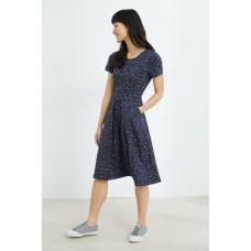 SEASALT April Dress Polka Dot Waterline RRP £55