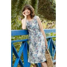 SEASALT Quick Sketch Dress Tresco Gardens Peacock RRP £59.95