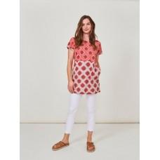 WHITE STUFF Bay Jersey Tunic Pink Multi RRP £45