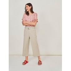 WHITE STUFF Teakie Trousers Dus Grey RRP £55