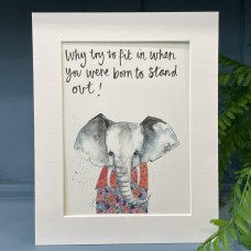 Animal Art Born to stand out Julius the Elephant