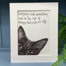 Animal Art List of Things Pop Cat