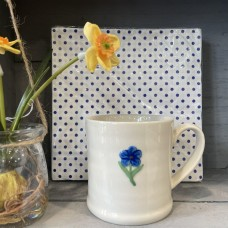 Ceramic Forget me Knot Mini Mug