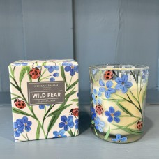 Small Boxed Candle Wild Pear