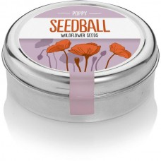 Seedball Tin Poppy Mix