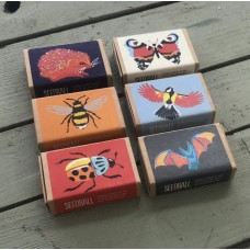 Seedball Wildlife Collection Seed Boxes 6 Pack