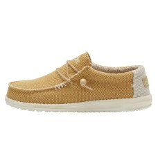 HEY DUDE WALLY NATURAL OCRA BRAIDED RRP £49.95