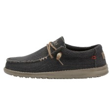HEY DUDE WALLY NATURAL OFFBLACK RRP £49.95
