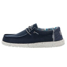 HEY DUDE WALLY SOX KITE DEEP NAVY RRP £49.95