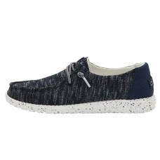 HEY DUDE WENDY  SOX NAVY RRP £49.95