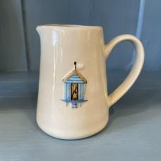 Ceramic Mini Jug Beach Hut