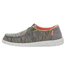 HEY DUDE WENDY SOX PEACOCK RRP £49.95