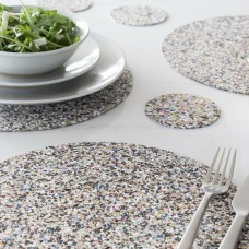 Beach Clean Round Placemat Set