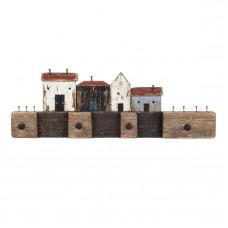 Quayside Wooden Coat Hooks