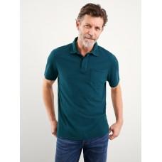 WHITE STUFF Luka Dobby Organic Polo Shirt RRP £35