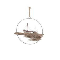 Hanging Ring with Fishing Boats