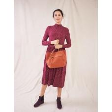 Heidi Eco Vero Jersey Dress  Plum Multi  RRP £59