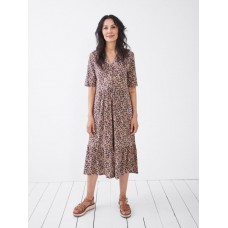 Naya Jersey Dress  Coral Multi  RRP £55