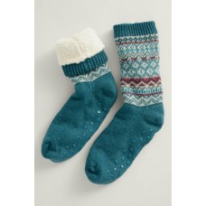 SEASALT Cottage Socks Icelandic Dark Lake Mix