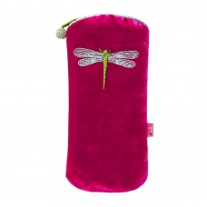 LUA Dragonfly Glasses Purse Hot Pink