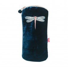 LUA Dragonfly Glasses Purse Navy