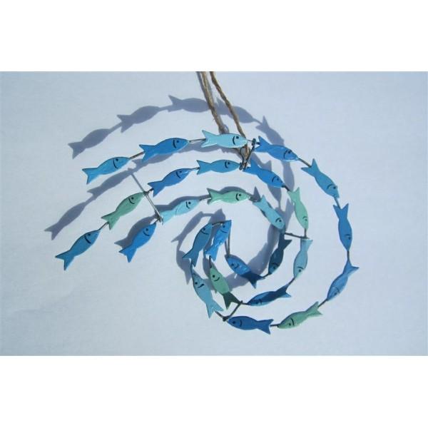 Mini Swirl of Fish Hanging Decoration